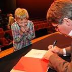 Macaulay book signing
