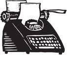 typewriter for eblasts